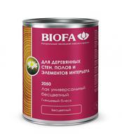Универсальный лак для дерева, глянцевый Biofa 2050 (Биофа 2050)