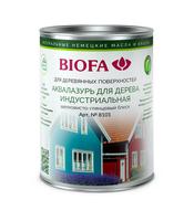 Аквалазурь для дерева, индустриальная Biofa 8101 (Биофа 8101)