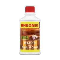 Масло деревозащитное для бань и саун Neomid