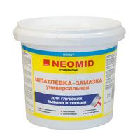 Шпатлевка-замазка универсальная Neomid для заделки глубоких выбоин и трещин