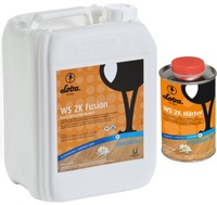 Loba WS 2K Fusion  Двухкомпонентный водный лак на основе полиуретана с очень высокой прочностью
